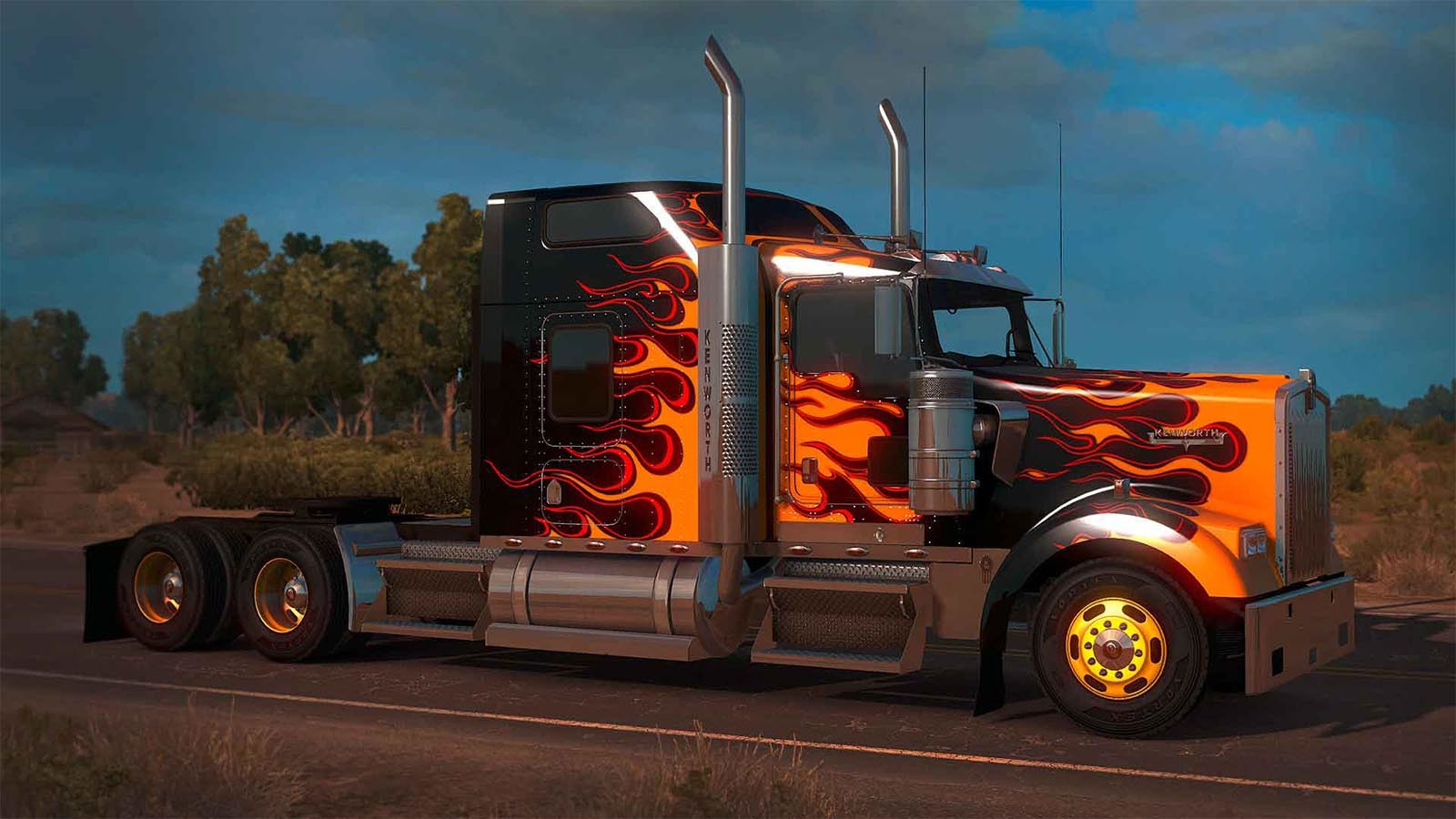 american truck simulator gold edition steam cd key for. Black Bedroom Furniture Sets. Home Design Ideas