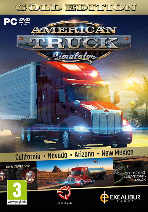 American Truck Simulator Gold Edition - Cover / Packshot