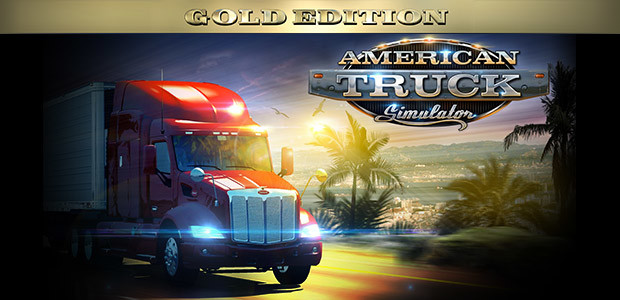 American Truck Simulator Gold Edition - Cover / Packshot