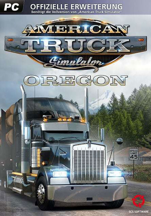 American Truck Simulator - Oregon - Cover / Packshot