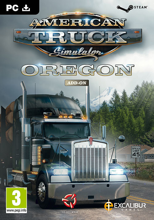 American Truck Simulator - Oregon - Cover