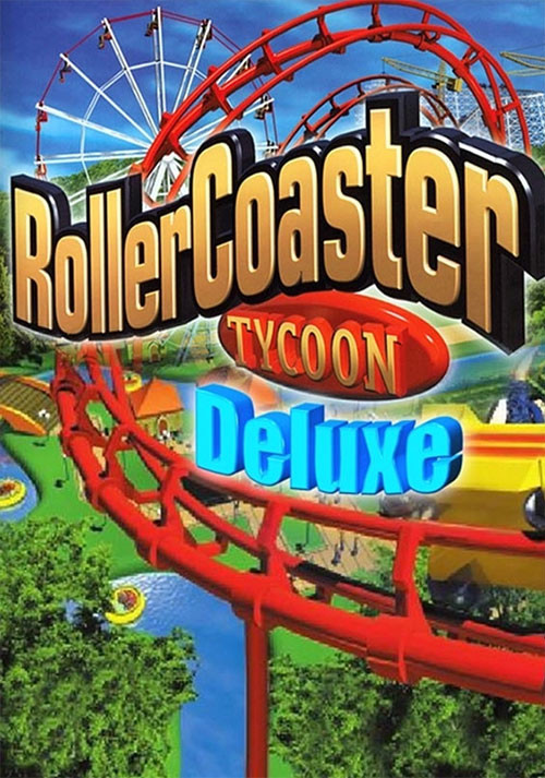 RollerCoaster Tycoon: Deluxe - Cover / Packshot