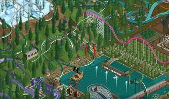 Screenshot1 - RollerCoaster Tycoon: Deluxe