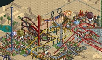 Screenshot7 - RollerCoaster Tycoon: Deluxe