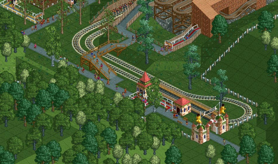 RollerCoaster Tycoon: Deluxe [Steam CD Key] for PC - Buy now