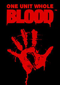 Blood: One Unit Whole Blood - Cover