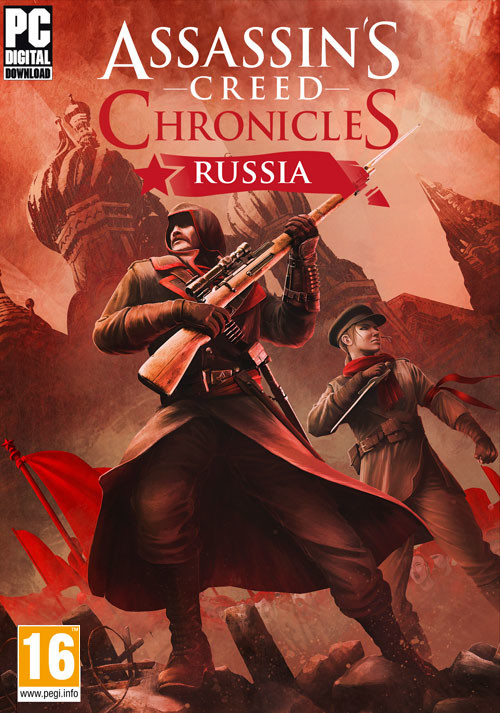 Assassin's Creed Chronicles: Russia - Cover