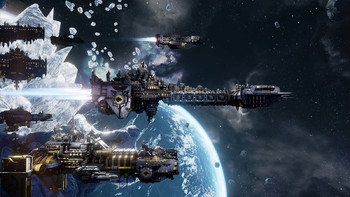 Screenshot1 - Battlefleet Gothic: Armada - Space Marines DLC