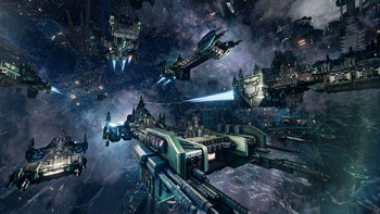 Screenshot3 - Battlefleet Gothic: Armada - Space Marines DLC