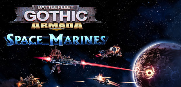 Battlefleet Gothic: Armada - Space Marines DLC - Cover / Packshot