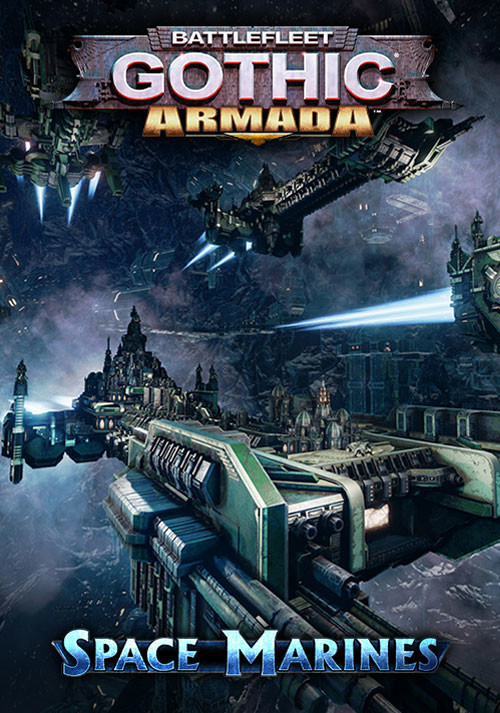 Battlefleet Gothic: Armada - Space Marines DLC - Cover