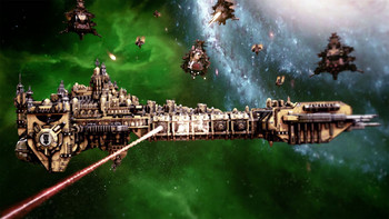 Screenshot2 - Battlefleet Gothic: Armada - Space Marines DLC