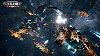 Screenshot3 - Battlefleet Gothic: Armada - Tau Empire DLC