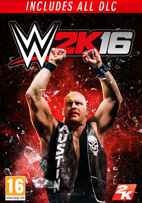 WWE 2K16 - Cover