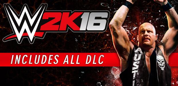 WWE 2K16 - Cover / Packshot