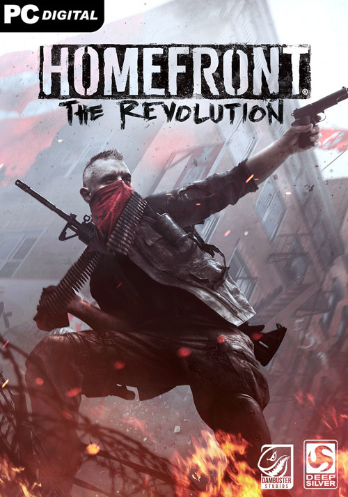 Homefront: The Revolution - Cover
