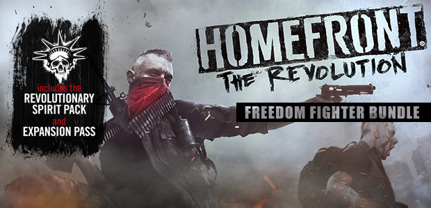 Homefront: The Revolution Freedom Fighter Bundle - Cover / Packshot