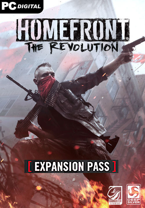 Homefront: The Revolution - Expansion Pass - Cover