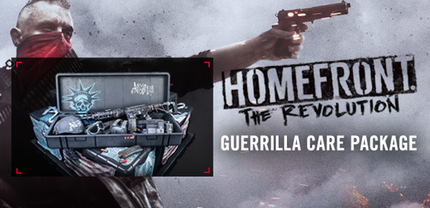 Homefront: The Revolution - The Guerilla Care Package - Cover / Packshot