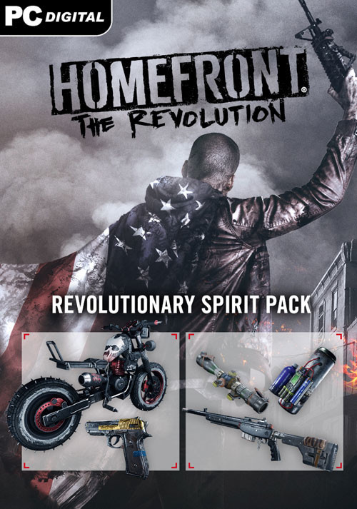 Homefront: The Revolution - The Revolutionary Spirit Pack - Cover / Packshot