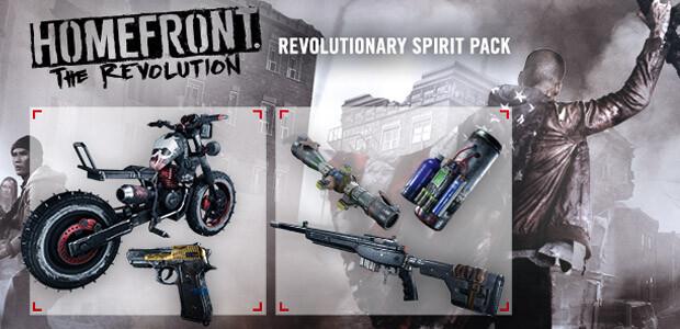 Homefront: The Revolution - The Revolutionary Spirit Pack - Cover / Packshot