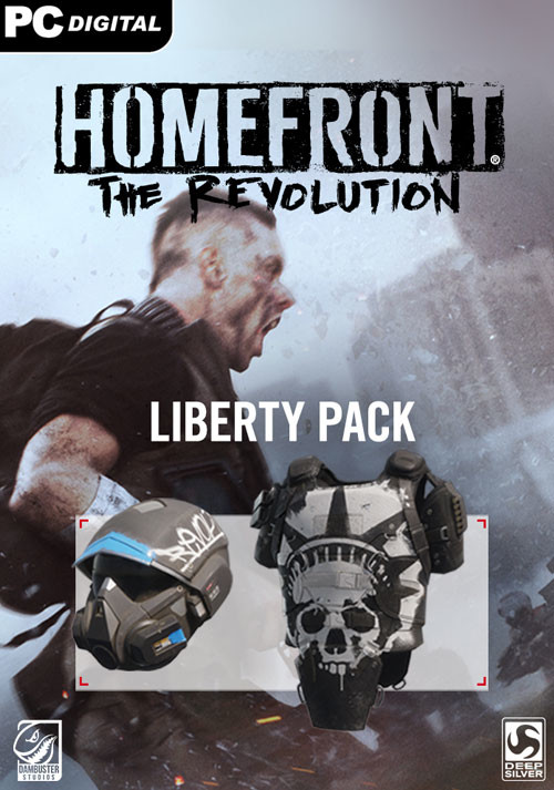 Homefront: The Revolution - The Liberty Pack - Cover