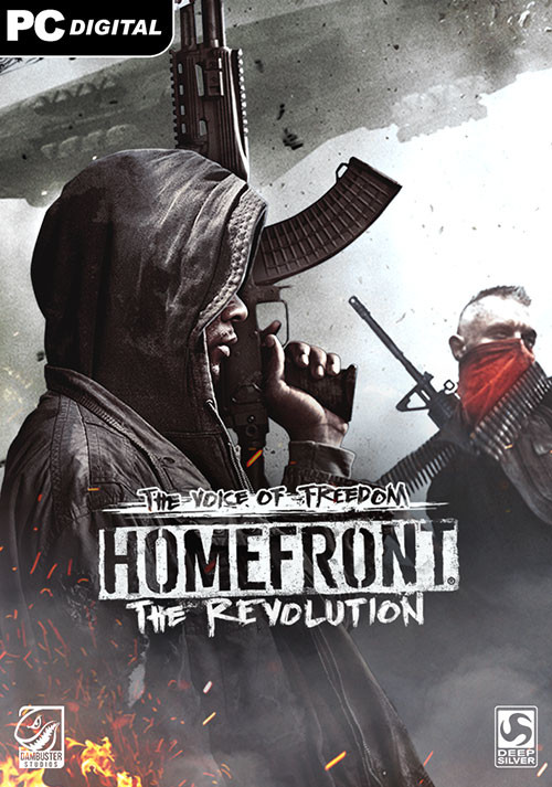Homefront: The Revolution - The Voice Of Freedom - Cover