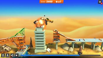 Screenshot1 - Bridge Constructor Stunts