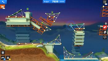 Screenshot3 - Bridge Constructor Stunts