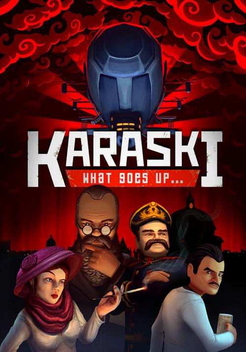 Karaski: What Goes Up... - Cover