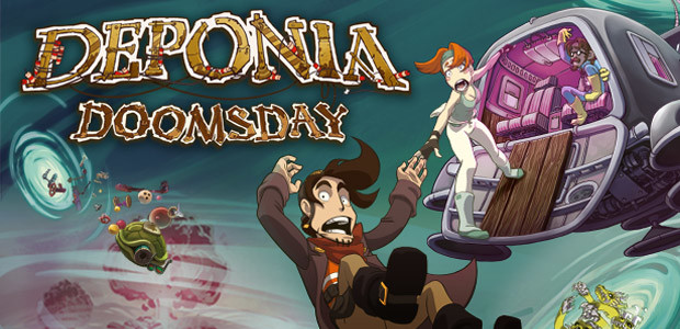 Deponia Doomsday - Cover / Packshot