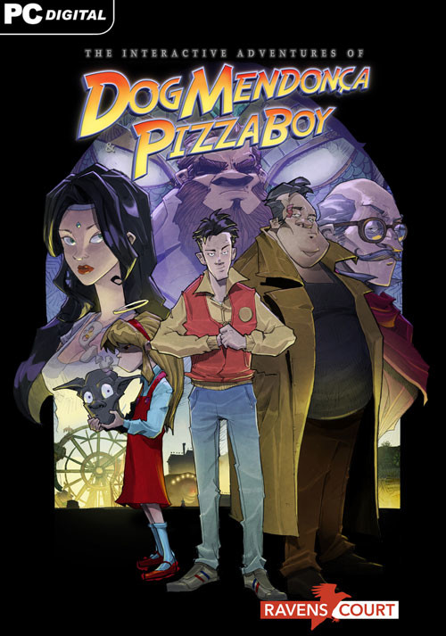 The Interactive Adventures of Dog Mendonça and Pizzaboy - Cover