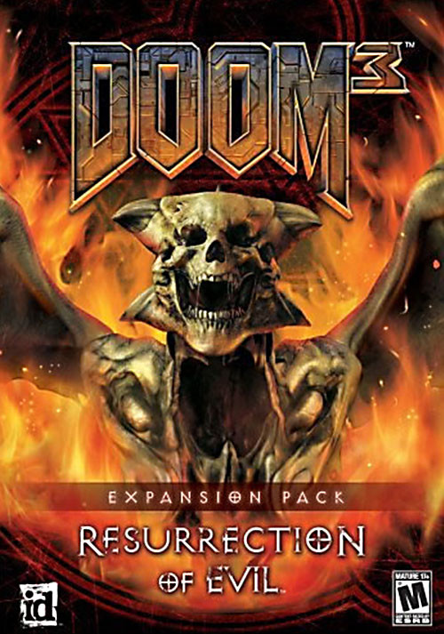 DOOM 3 - Resurrection of Evil DLC - Cover / Packshot