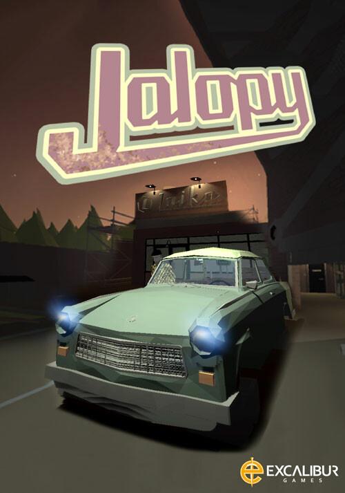 Jalopy - Cover / Packshot