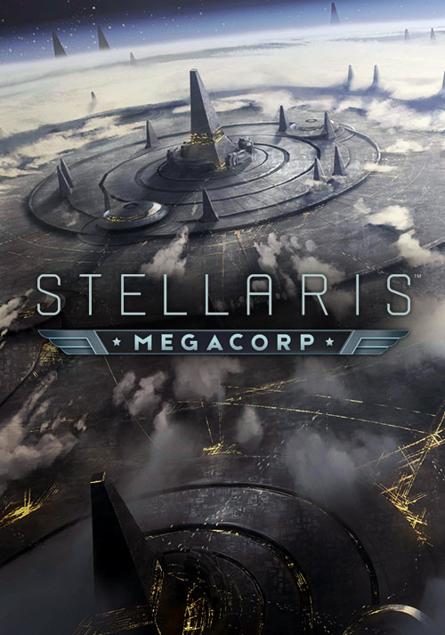 Stellaris: MegaCorp - Cover / Packshot