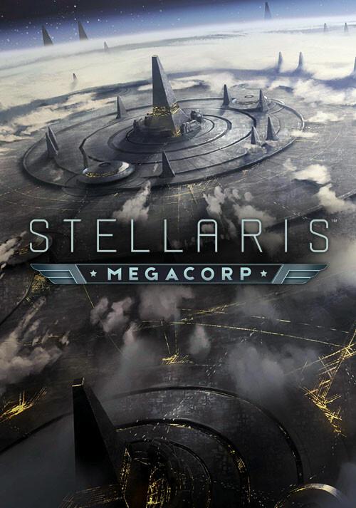 Stellaris: MegaCorp - Cover