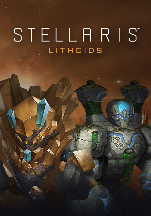 Stellaris: Lithoids Species Pack - Cover / Packshot