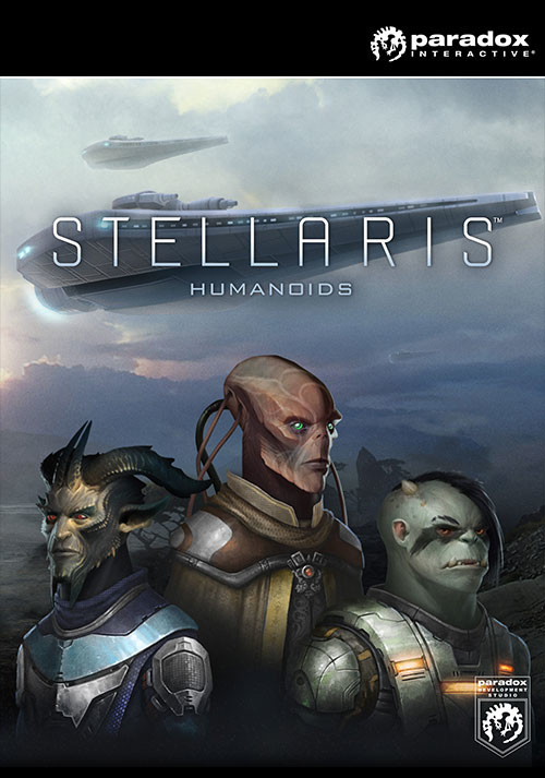 Stellaris: Humanoids Species Pack - Cover