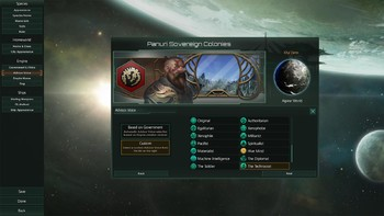 Screenshot1 - Stellaris: Humanoids Species Pack