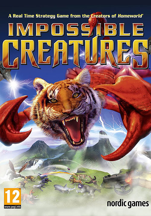 Impossible Creatures - Cover / Packshot