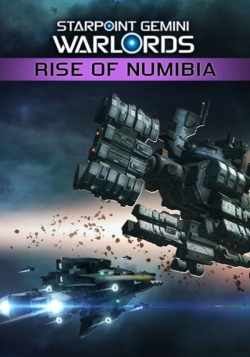 Starpoint Gemini Warlords: Rise of Numibia - Cover / Packshot