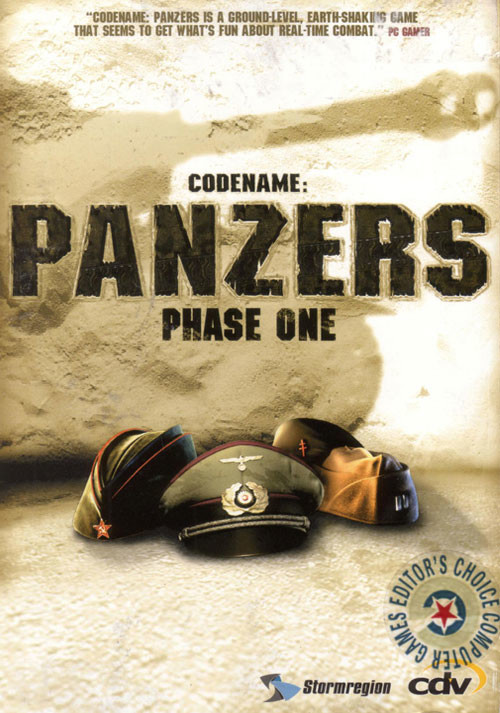 Codename: Panzers - Phase One - Cover