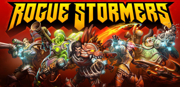 Rogue Stormers - Cover / Packshot