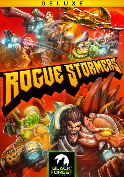 Rogue Stormers Deluxe - Cover / Packshot