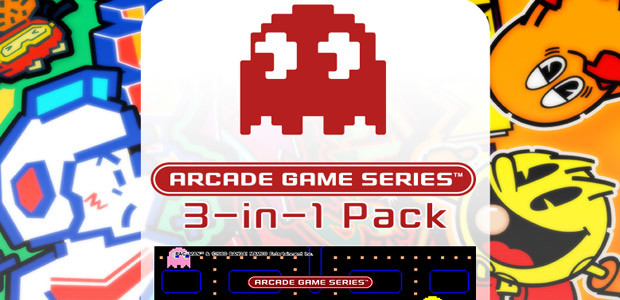 ARCADE GAME SERIES 3-in-1 Pack - Cover / Packshot