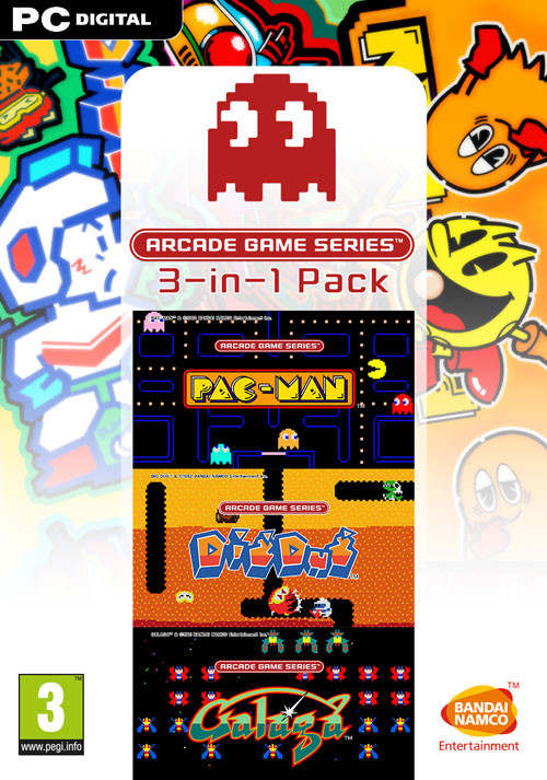ARCADE GAME SERIES 3-in-1 Pack - Packshot