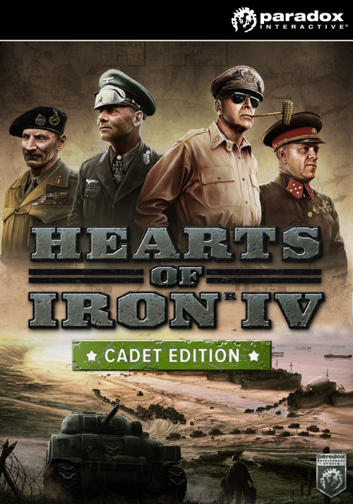 Hearts of Iron IV: Cadet Edition - Cover