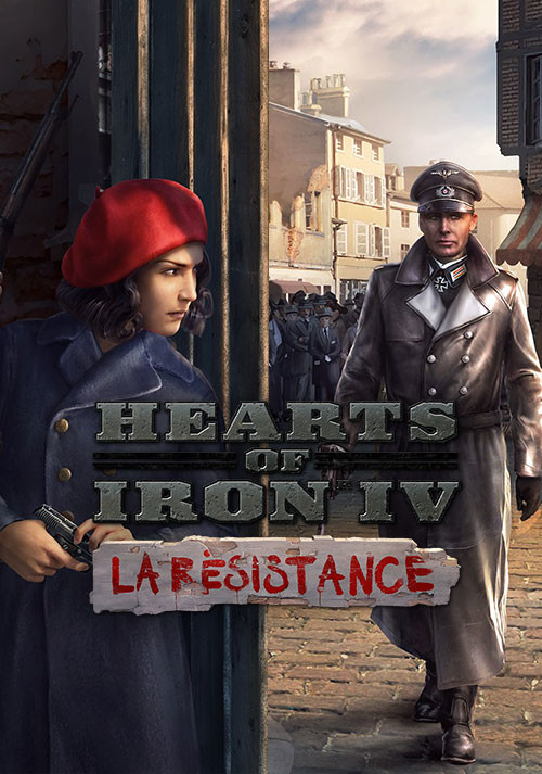 Hearts of Iron IV: La Résistance - Cover / Packshot