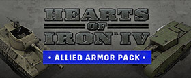 Hearts of Iron IV: Allied Armor Pack