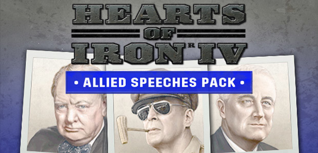 Hearts of Iron IV: Allied Speeches Pack - Cover / Packshot